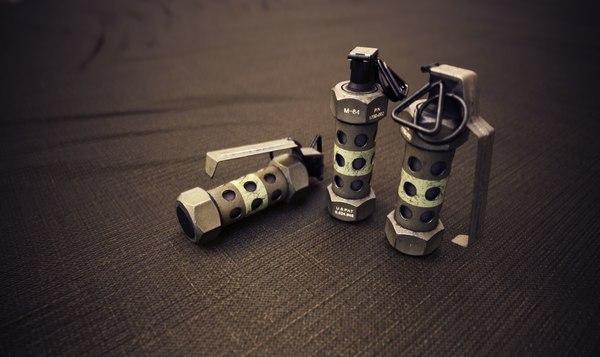 m84 flashbang grenade 3D