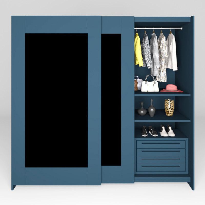 3D hawkesbury armoire model