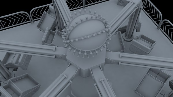 project carnival ride 3D model