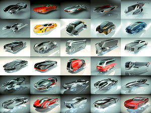30 1 cool hover car model