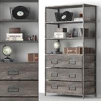 wexler bookcase 3D model