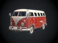 classic bus games 3D model