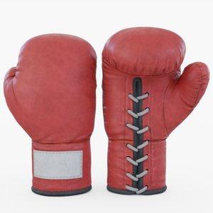 3D model boxing glove