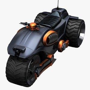 motor concept 3d obj