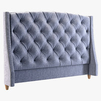 Jordan Button Tufted Wing Headboard 758-H66H