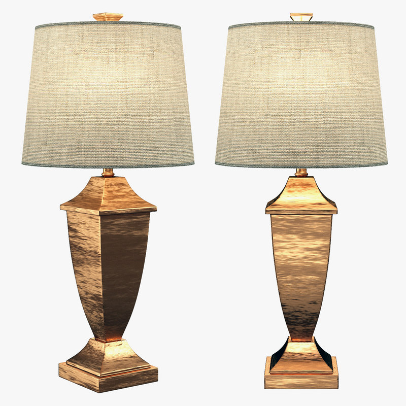 3D model andover ando3563 30 table lamps