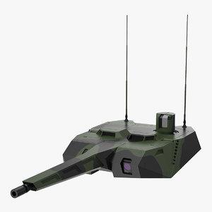 3D armored tower nextgen