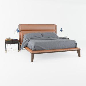 3D nyan bed bayus model