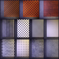 Perforated panels (Perforation 3D) Rg, Rv, Qg, Qv, Qd, Lgl, Lvl, Nr 152