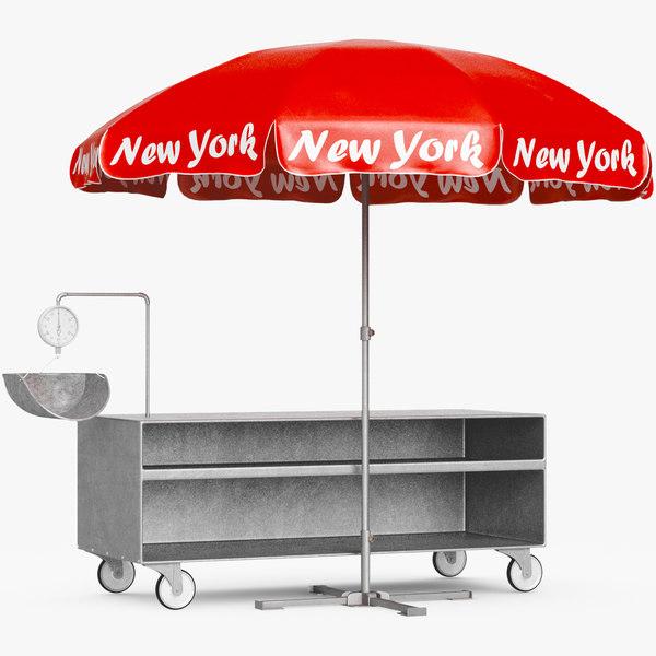 3D outdoor shop umbrella