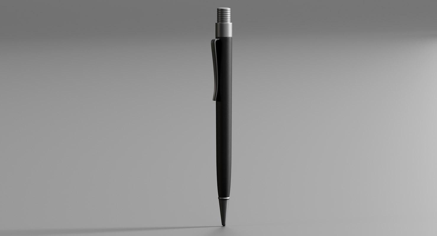 fisher space pen 3D model