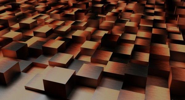 geometric cubes 3D