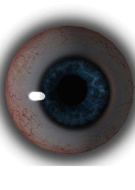 3D eyes iris