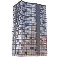 Modern Apartment Building 7