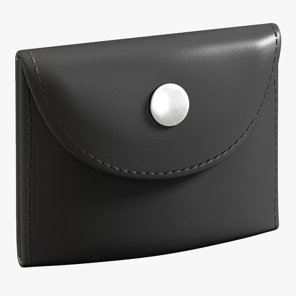 galls leather glove pouch 3D