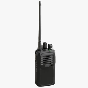 3D model portable digital way radio