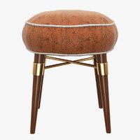 louis stool 3D model