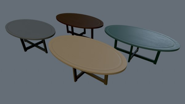 3D seating tables