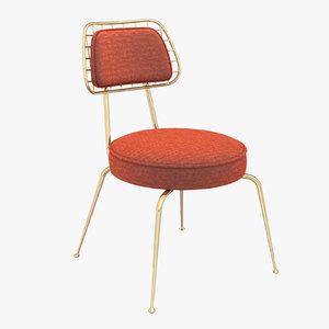marie chair 3D