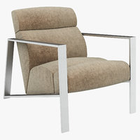 3D chair furniture seat model
