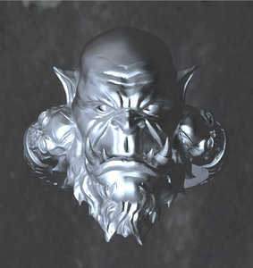 3D ring orc