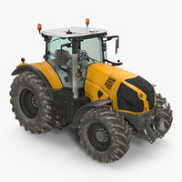 tractor dirty generic 3D