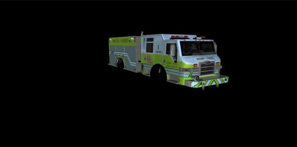 rescue gta v 3D model