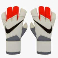 Nike Grip3 Keeper Glove 3D Model