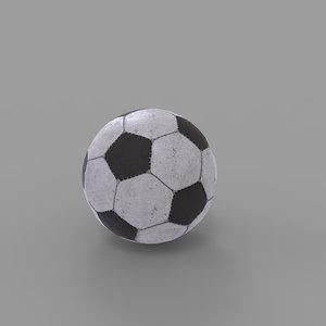 3D soccerball soccer ball