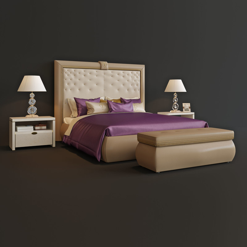 3D bed turri model