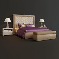 3D bed turri model