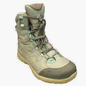 salomon boots shoe model