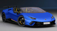 lamborghini huracan performante spyder 3D model