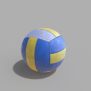 3D volleyball ball volley