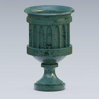 urn concrete 3D