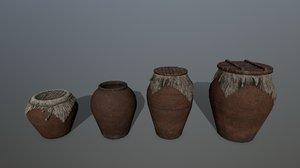 3D vase cover rope model