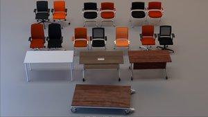 3D set perfect office kind model