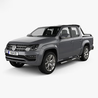 3D model volkswagen amarok ultimate