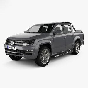 3D model volkswagen amarok ultimate