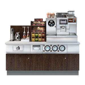 3D coffee k model