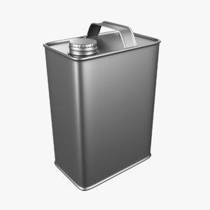 adobe 1 gallon f-style 3D
