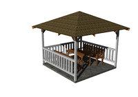 gardening gazebo 3D model
