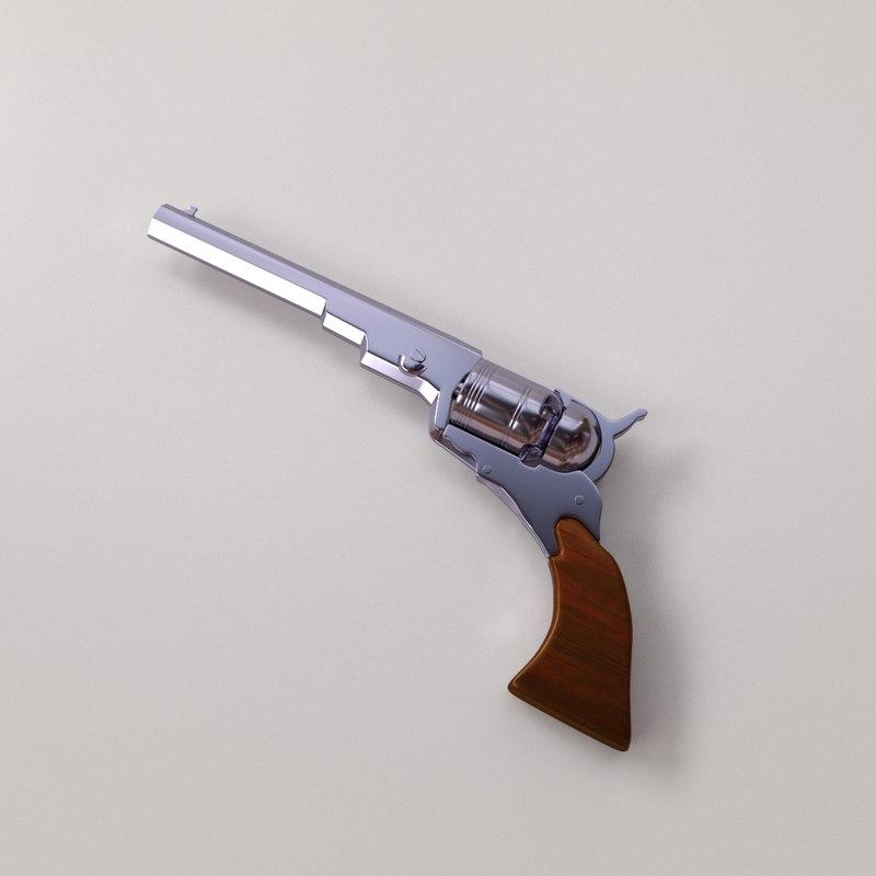 3D model colt paterson