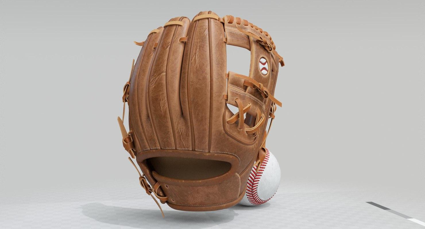 3D baseball set