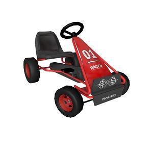 3D pedal kart model
