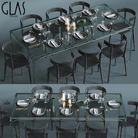 Glas Italia table set