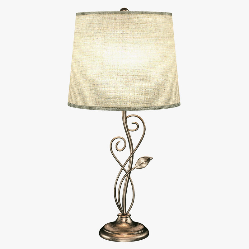 andover andv2361 table lamp 3D model