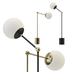 tango table lamp paul 3D