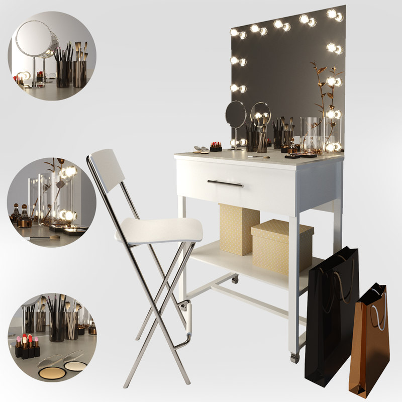 3D make-up table