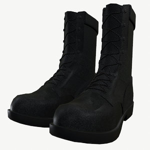 3D military boots